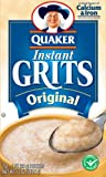 Quaker Instant Grits Original, 12-Count Boxes (Pack of 12)