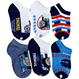 Thomas & Friends &quot;Go Go Thomas&quot; 6-Pack Ankle Socks Size 4-6