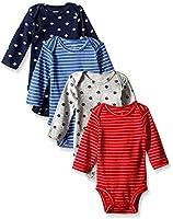 Carter's Baby Boys' 4 Pack Sport Bodysuits (Baby)