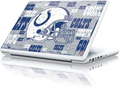 NFL® Indianapolis Colts - Blast Vinyl Laptop Skin for Apple MacBook 13-inch at Amazon.com