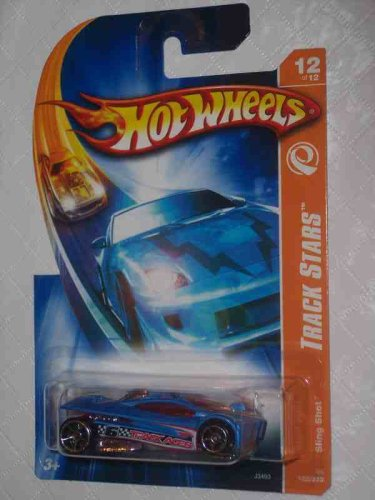 Track Aces Series #12 Sling Shot 2007 Track Stars Card #2006-122 Collectible Collector Car Mattel Hot Wheels