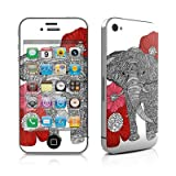 The Elephant Design Protective Decal Skin Sticker (High Gloss Coating) for Apple iPhone 4 / 4S 16GB 32GB 64GB