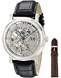 Stuhrling Original Men's 501.01 Special Reserve Emperor Dual Time Black Watch