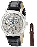Stuhrling Original Men's 426AL.SET.01 Winchester XT Skeleton Leather Band Watch