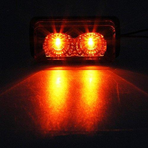 Led Lights For Tractor Trailers : Partsam led marker side light for v vehicle qty