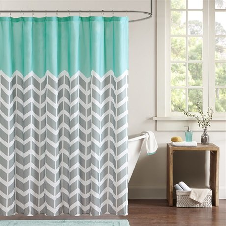 Intelligent design id70 365 nadia shower curtain 72x72 - Intelligent shower ...
