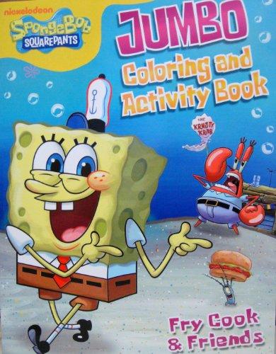 SPONGEBOB COLORING & ACTIVITY BOOK C - 1
