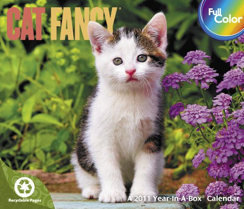 2011  Cat Fancy  Box Calendar