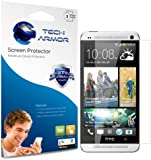 Tech Armor HTC One MAX High Defintion (HD) Clear Screen Protectors -- Maximum Clarity and Touchscreen Accuracy [3-Pack] Lifetime Warranty
