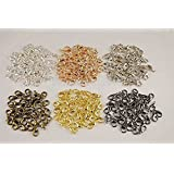 HYBEADS 100Pcs Mixed Color 10mm Plated Lobster Clasp Findings Making For Jewelry