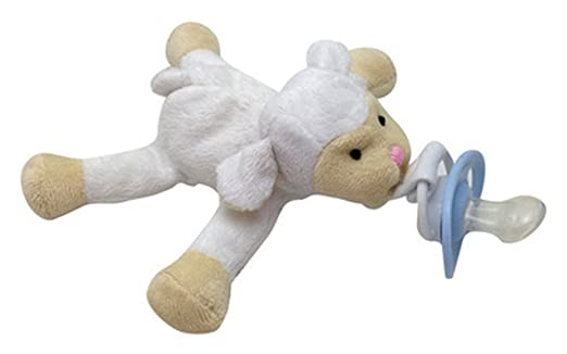 Amazon.com : CuddlesMe Plush Sheep Toy with Detachable Pacifier, FDA Listed Medical Device : Baby