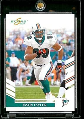 2007 Score # 150 Jason Taylor - Miami Dolphins - NFL Football Card