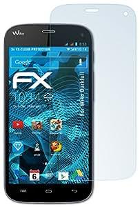 3 x atFoliX Wiko Darkfull Protecteur d'Écran - FX-Clear ultra claire