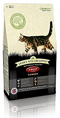 James Wellbeloved Turkey and Rice Adult Dry Cat Food