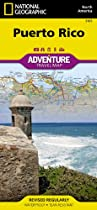 Puerto Rico: National Geographic: Adventure Map (National Geographic: Adventure Map (3107))