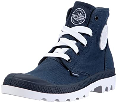 Unique Women Palladium Mono Chrome Baggy Ii Boots  Originals Victoria Blue