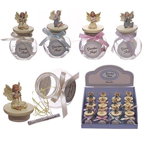 A forma di angelo custode Wishes Jar Bambini Ragazze regali Angelo ornamenti PDS