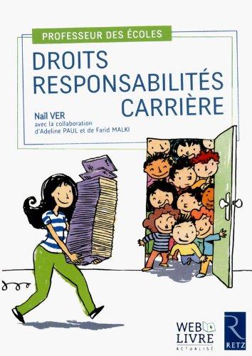 [Livres] Professeur des écoles : droits, responsabilités, carrière