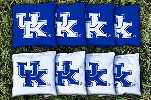 Kentucky UK Wildcats Replacement Cornhole Bag Set (corn filled) (Corn Hole Kentucky compare prices)