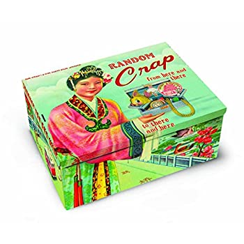 Blue Q Random Crap Cigar Box
