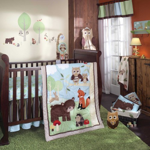 Owl Baby Bedding Set 4089 front