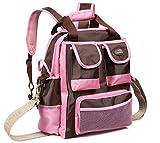 ブランド マーケット brand market マタニティ 3way 多機能 大容量 マザーズバッグ ショルダー トート リュック 対応 レディース (ピンク)