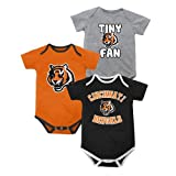 Cincinnati Bengals Newborn Tiny Fan 3 Piece Creeper Set Amazon.com