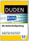Software - DUDEN Die Rechtschreibpr�fung f�r OpenOffice und LibreOffice, Korrektor 8.0