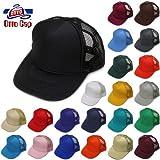 OTTO CAP/Solid Mesh Cap(オットーキャップ/ソリッドメッシュキャップ FREE(頭周り56cm-60cm) BK:ブラック
