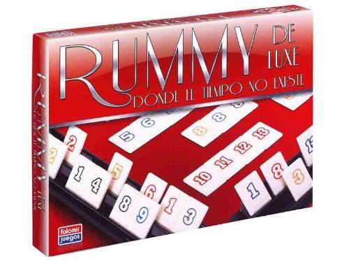 Falomir 646396 - Juego Rummy De Luxe.