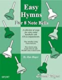 Celtic-Instruments.com Rhythm Band Easy Hymns - 12 Hymns for 8 Note Handbells & Deskbells Book with CD