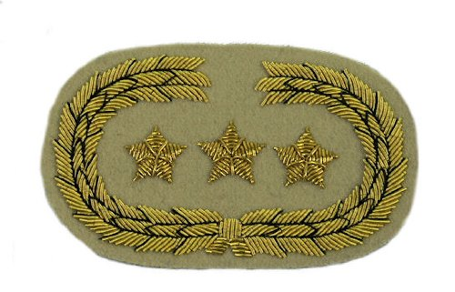 Civil War Confederate Officer's Collar Rank - STAFF OFFICER - GENERAL