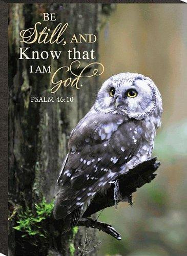 Be Still, And Know That I Am God Psalm 46:10 Mini Print 6 X 4.3