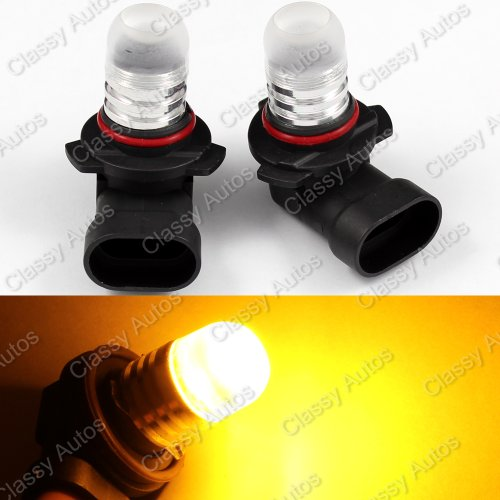 Classy Autos Amber Yellow 9005 LED Bulbs for Subaru Daytime Running Lights High Beam (A Pair)