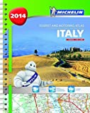 Italy 2014 - A4 spiral atlas (Michelin Tourist and Motoring Atlas)