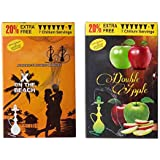 X On The Beach & Double Apple Hookah Flavour Pack Of 2
