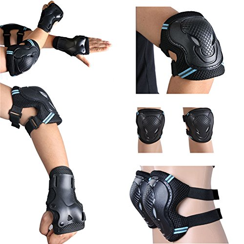 pellor-6-pack-al-aire-libre-rollerblade-protector-patinaje-ciclismo-protecciones-contra-caidas-para-