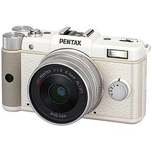 Pentax Q 12.4 MP CMOS Sensor Kit with 8.5mm 1.9 AL [IF] Prime Lens (White)