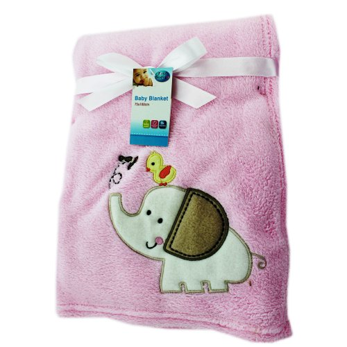 Sale alerts for Theworks Baby Blanket - Pink - Covvet