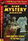 img - for Dime Mystery Magazine Shake Hands With the Devil! book / textbook / text book
