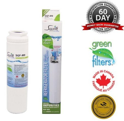 Maytag UKF-8001, UKF8001AXX, UKF8001AXXT, UKF8001AXX-750, UFK8001AXX-750, Water Filter Made by Swift Green