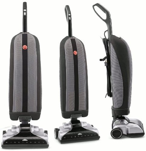 Hoover Upright Platinum Collection Bagged With Canister