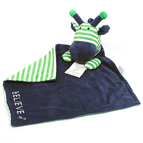 Bella Tunno Poetic Plush Lovey Blanket, Giraffe
