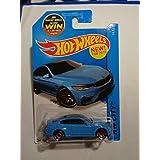 Hot Wheels BMW M4 Blue NEW Rare Hw City 24/250
