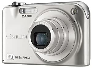 Casio EXILIM ZOOM EX-Z1200 - Digital camera - point and shoot - 12.1 Mpix - optical zoom: 3 x - supported memory: MMC, SD, SDHC - silver