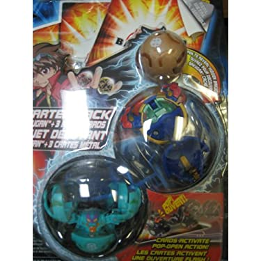 Bakugan B2 Starter 3 Pack Assorted Colors