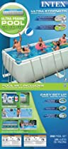 Hot Sale Intex 54481EG 9-Feet by 18-Feet by 52-Inch Ultra Frame Rectangular Frame Pool Set