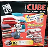 Space Bag, 10 Bag Combo Set ~ Spacebag Cube