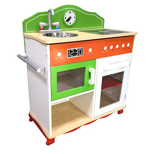 Teamson Kids - My Little Chef Play Kitchen W/Electrical Stove