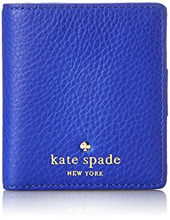 kate spade new york Cobble Hill Small Stacy Bifold, Bright Lapis, One Size